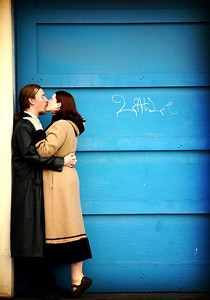 Taken by April Greer for our engagement session.